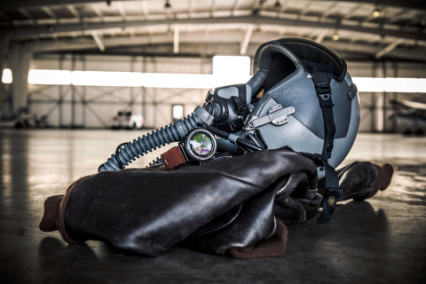 The Garmin D2™ Charlie aviator watch has been selected by the United States Air Force (USAF) for use by the pilots of the Lockheed U-2 aircraft. (Photo: Business Wire)