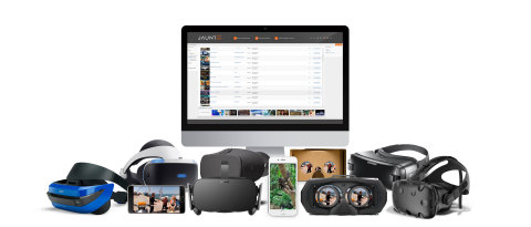 The Jaunt XR Platform is a state of the art white label distribution solution available to media companies, brands, content aggregators and enterprise customers enabling them to deliver immersive virtual reality, augmented reality and mixed reality content directly to audiences through their owned and operated channels. (Photo: Business Wire)