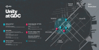 Unity at GDC Map (Graphic: Business Wire)