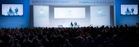 HE Roberto Carvalho de Azevêdo, Director-General of the World Trade Organization (WTO), speaking at the sixth edition of the World Government Summit (WGS 2018) in Dubai, at a session titled: 'The Outlook for Global Trade in a Hyperconnected World', moderated by CNN's Emerging Markets Editor John Defterios (Photo: AETOSWire)