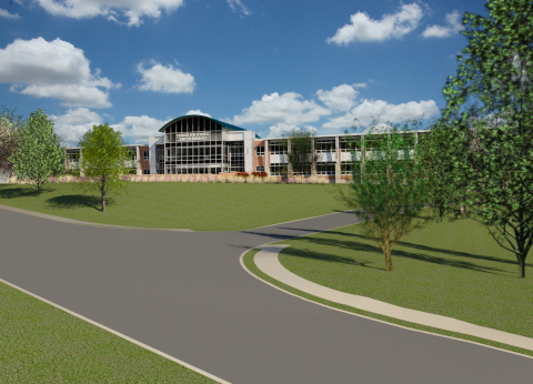 Rendering of new Science and Technology Center at Abington High School, courtesy of Gilbert Architects. (Photo: Gilbert Architects)