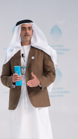 During the speech of HH Sheikh Saif bin Zayed Al Nahyan at the World Government Summit: Seizing oppo ...