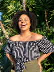 """Mirroring the themes of HBO's """"HERE AND NOW,"""" Buzzfeed's Julissa Calderon answered the question """"Where Do You Exist?"""" during a live performance taped in Los Angeles. (Photo: Business Wire)"""