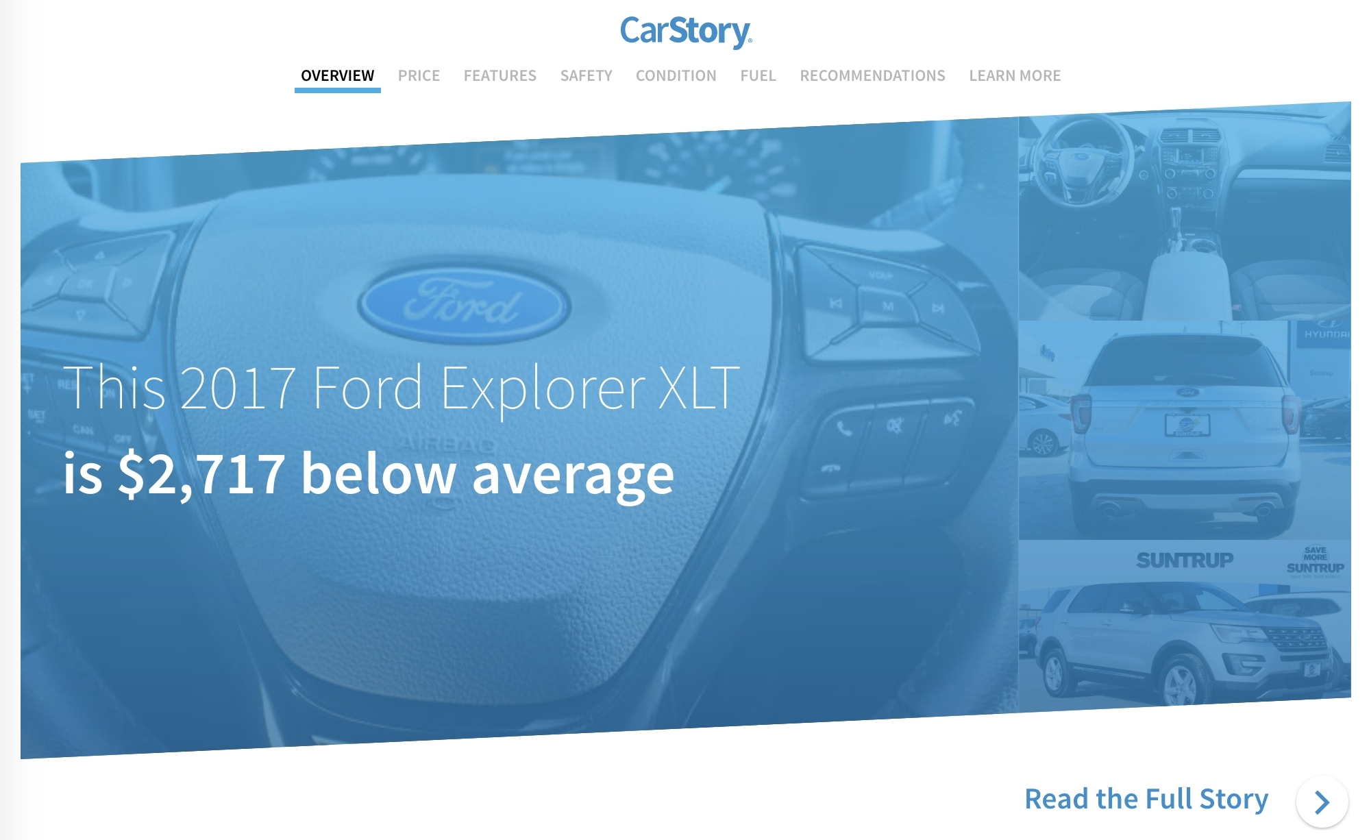 Carstory Market Reports Available To 2 500 Forddirect Dealers Instantly Merchandise Inventory With Industry S Best Vehicle Ytics Business Wire