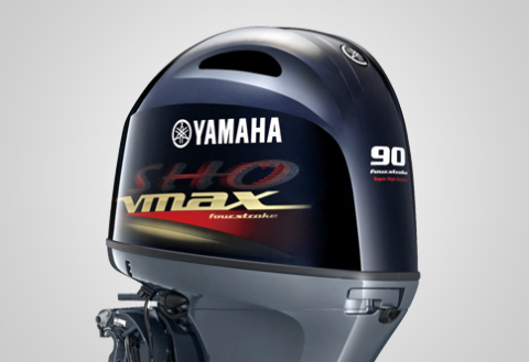Yamaha Marine kicks off 2018 with new power, new control and new outboard features.  New products include the new V MAX SHO 90, the perfect power solution for inshore and multi-species boats. (Photo: Business Wire)