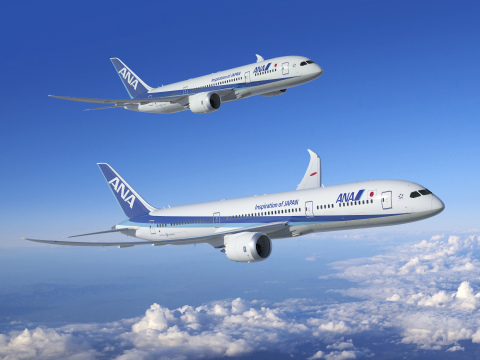 ANA Airplane (Photo: Business Wire)