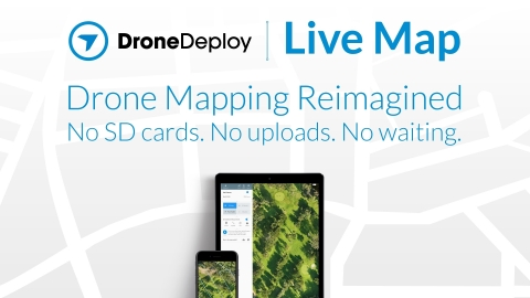 Live Map Creates Instant Drone Maps on iOS Devices, Allowing Decision-Makers to Take Immediate Action (Graphic: Business Wire)