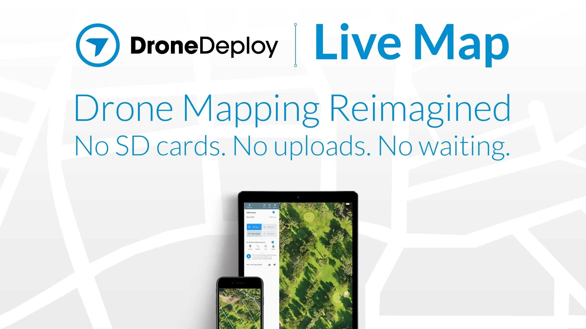DroneDeploy Launches RealTime Mapping For Instant Aerial Data And - Live aerial maps