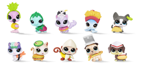 LITTLEST PET SHOP HUNGRY PETS Assortment (HASBRO/ Ages 4 years & up/Approx. Retail Price: $4.99/Available: Fall 2018) (Photo: Business Wire)