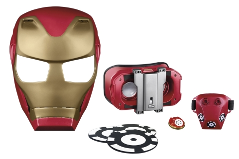 MARVEL AVENGERS: INFINITY WAR HERO VISION IRON MAN AR EXPERIENCE (HASBRO/ Ages 8 years & up/Approx. Retail Price: $49.99/Available: Spring 2018) (Photo: Business Wire)