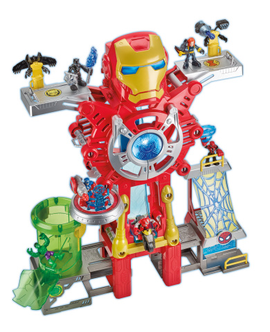 PLAYSKOOL HEROES MARVEL SUPER HERO ADVENTURES IRON MAN POWER UP HEADQUARTERS Set (HASBRO/ Ages 3 years & up/Approx. Retail Price: $59.99/Available: Fall 2018) (Photo: Business Wire)