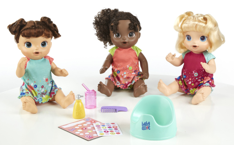 BABY ALIVE POTTY DANCE BABY Doll (HASBRO/ Ages 3 years & up/Approx. Retail Price: $49.99/Available: Fall 2018) (Photo: Business Wire)
