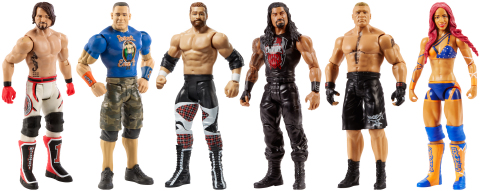 WWE®'s Mattel Action Figure Ranks #1 (Photo: Business Wire)