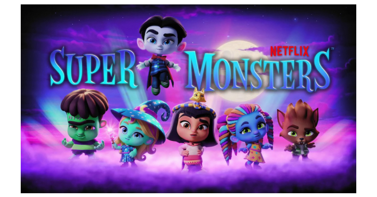Hasbro Teams Up With Netflix To Create Toys And Games For Original Preschool Series Super Monsters Business Wire