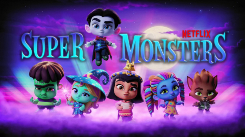 Hasbro teams up with Netflix to create toys and games based on Super Monsters animated preschool series (Photo: Business Wire)