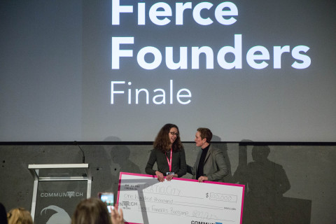 Early-stage startup Ratio.City won $100,000 at the Communitech Fierce Founders Bootcamp Pitch Competition Thursday. (Photo: Business Wire)