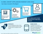 Technavio has published a new market research report on the global smart appliances market from 2018-2022. (Graphic: Business Wire)