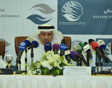 H.E. Dr. Abdullah Al Rabeeah, Advisor – Royal Court and Supervisor General of the King Salman Humanitarian Aid and Relief Centre (Photo: AETOSWire)