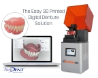 EnvisionTEC, the global leader in dental 3D printing technology, and AvaDent, the global leader in digital dentures, have announced a collaboration to provide dental professionals with an easy-to-use digital workflow solution for 3D printed dentures. (Photo: Business Wire)
