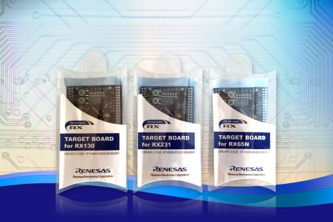 Renesas Low-Cost RX Target Boards for Touch-Based Applications (Photo: Business Wire)