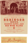 Beringer Bros labels feature a historic photograph of Jacob & Frederic Beringer in front of the winery & distillery, founded in 1876. Mark Beringer, the great great grandson of Jacob Beringer, now oversees winemaking. (Photo: Business Wire)