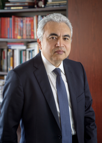 Dr. Fatih Birol, the Executive Director of the International Energy Agency (IEA), will be among the speakers to address CERAWeek by IHS Markit 2018, March 5-9 in Houston. www.ceraweek.com. (Photo: Business Wire)