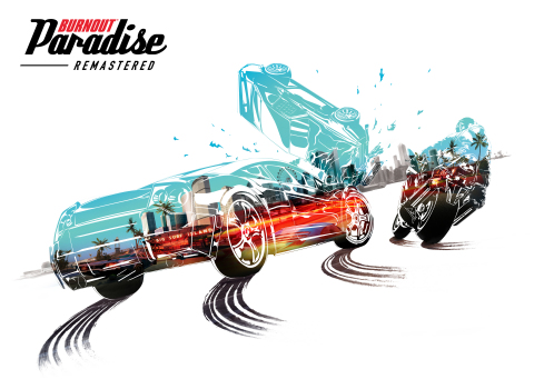 Burnout Paradise Remastered is Coming to PlayStation 4 and Xbox One on March 16 (Graphic: Business Wire)