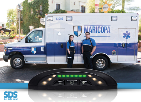Major Metropolitan Ambulance Service Deploys Safe Drive Systems Unique Radar and Camera-Based Accident Prevention System (Photo: Business Wire)