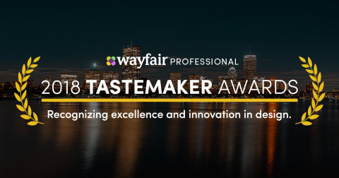 Wayfair Recognizes Top Designs in Fourth Annual Wayfair Professional Tastemaker Awards (Graphic: Business Wire)
