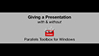 How PC users can avoid embarrassing presentation disruptions, in just two clicks, with the new Parallels Toolbox for Windows.