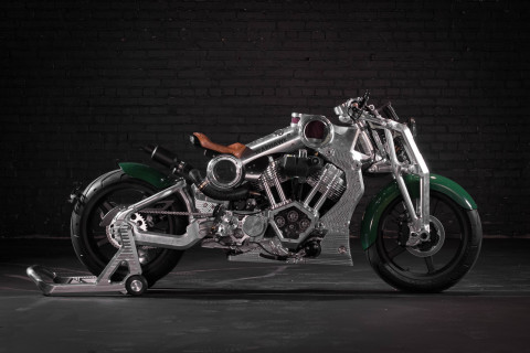 2018 Curtiss Warhawk Motorcycle (Photo: Business Wire)