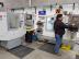 Ing. Ruben Fuentes, trabajando en la maquina CNC de la planta de SpotSee en Chihuahua, Mexico. (Foto: Business Wire)