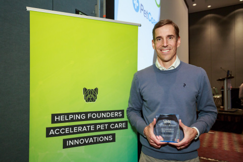 """I was thrilled to take part in this event alongside some amazing entrepreneurs in the veterinary space,"" said John Keatley, founder, and CEO of Scratchpay. ""The prize and industry recognition will help us ensure that more pets have access to the medical care they need to live happy lives."" (Graphic: Business Wire)"