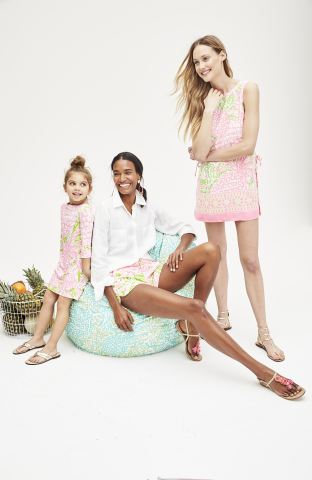 Lilly Pulitzer for Pottery Barn Brands Collection (Photo: Business Wire)