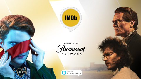 "IMDb launches its first-ever skill for Amazon Alexa. ""IMDb's What's On TV"" Alexa Flash Briefing, presented by Paramount Network, helps customers decide what to watch based on the top trending television shows on IMDb. Paramount Network's featured shows include the six-part limited series ""Waco,"" as well as ""Lip Sync Battle,"" and the original scripted series ""Heathers."" (Photo: Business Wire)"