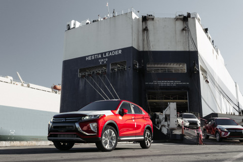 2018 Mitsubishi Eclipse Cross arrives in the United States. (Photo: Business Wire)