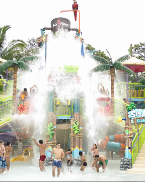 Introducing the all-new Six Flags Hurricane Harbor Concord, opening with an exciting new look on May 5.