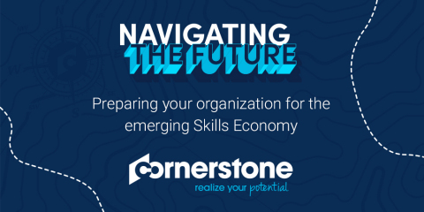 Cornerstone Partners with Institute for the Future to Forecast the Skills Required to Navigate the Future (Graphic: Business Wire)