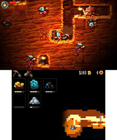 SteamWorld Dig 2 takes you on a platform mining adventure. (Graphic: Business Wire)