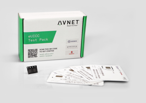 New 'plug & play' eUICC Test Pack from Avnet Silica - for testing networks with data management and swap services. (Photo: Business Wire)