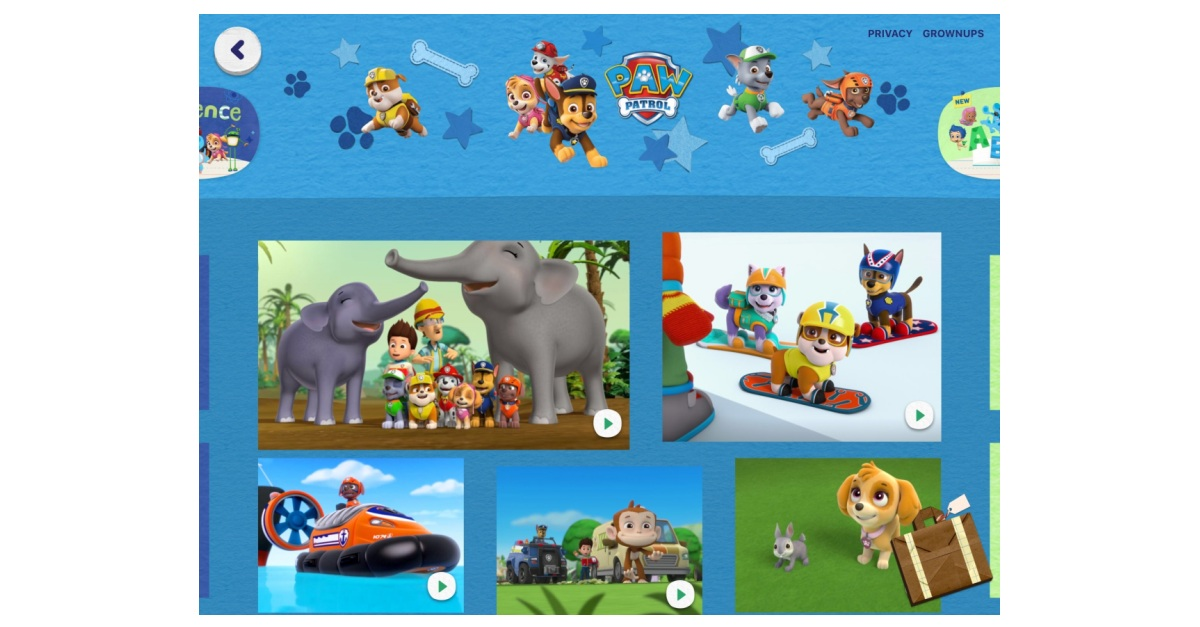 How to download paw patrol episodes on ipad | Watch Paw Patrol