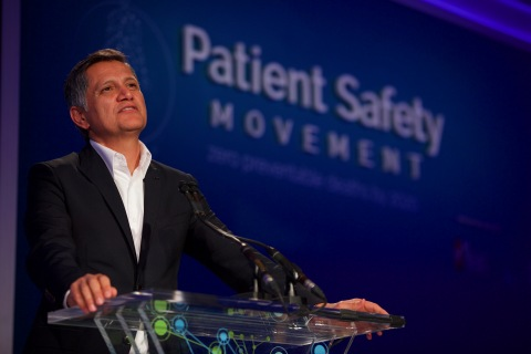 Joe Kiani, Founder and Chairman of the Patient Safety Movement Foundation, discusses the importance of open data and interoperability of medical devices. (Photo: Business Wire)