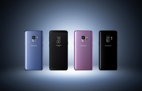 Samsung Electronics Co., Ltd. introduces the Samsung Galaxy S9 and Galaxy S9+, the smartphones built for the way we communicate today. (Photo: Business Wire)