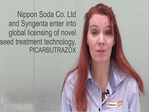 Syngenta and Nippon Soda enter new global licensing agreement. Ioana Tudor, Global Head of Syngenta Seedcare, explains the benefits of PICARBUTRAZOX, a new active ingredient from a novel chemical class discovered by Nippon Soda. PICARBUTRAZOX brings innovation to growers by controlling Pythium diseases, and adds a novel mode of action to the leading Syngenta Seedcare portfolio.