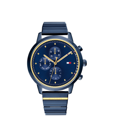 The Spring 2018 Tommy Hilfiger watch of the season embodies Gigi Hadid's cool and edgy attitude (Photo: Business Wire)