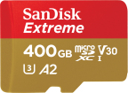 World's fastest UHS-I microSD card, new 400GB SanDisk Extreme microSDXC flash memory card (Photo: Business Wire)