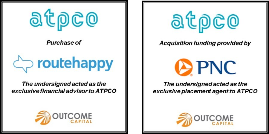 Outcome Capital Announces ATPCO Has Acquired Routehappy | Business Wire
