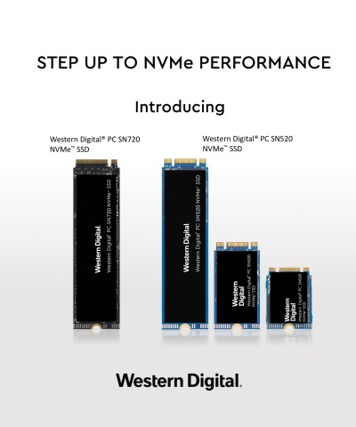 WESTERN DIGITAL NVMe SOLUTIONS ENABLE DATA to THRIVE (Graphic: Business Wire)