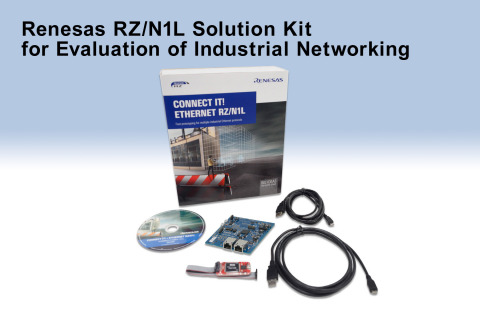 Renesas RZ/N1L solution kit for the evaluation of industrial networking (Photo: Business Wire)