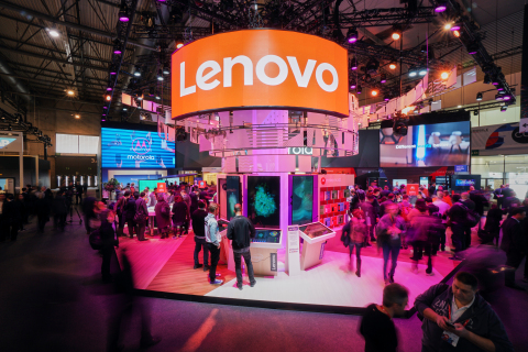 Lenovo™ Sees Intelligence Transforming Everything at MWC 2018, From Devices to Data Center (Photo: Business Wire)